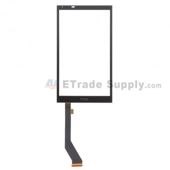 For HTC Desire 820 Digitizer Touch Screen Replacement - Black - With Logo - Grade S+