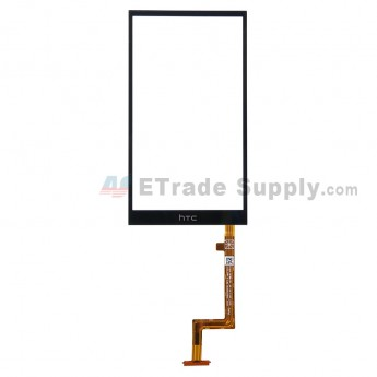 For HTC Desire Eye Digitizer Touch Screen Replacement - Black - With Logo - Grade S+
