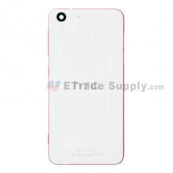 For HTC Desire Eye Rear Housing Replacement - White - With Logo - Grade S+