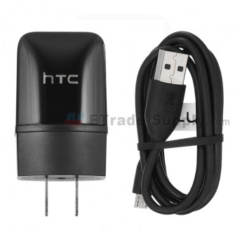 For HTC Google Nexus 9 Adapter and USB Data Cable Replacement - Black - Grade S+