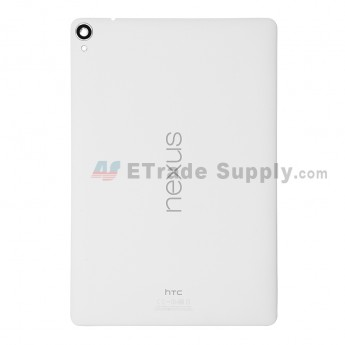 For HTC GG Nexus 9 Rear Housing Replacement - White - Grade S+
