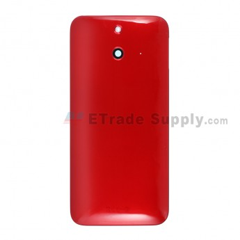 For HTC One E8 Rear Housing Replacement - Red - Grade S+
