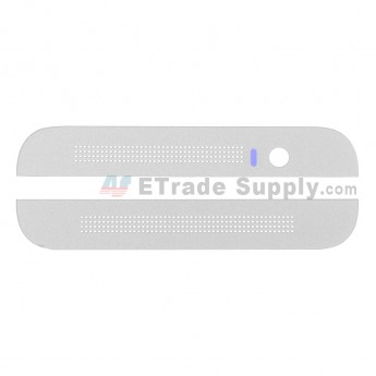 For HTC One E8 Top and Bottom Cover  Replacement - White - Grade S+