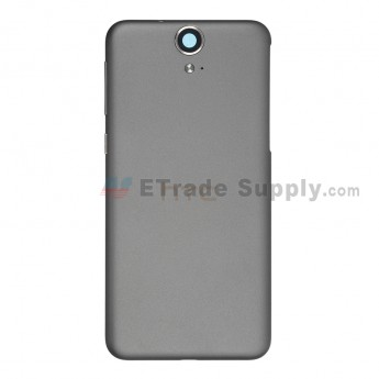 For HTC One E9 Battery Door Replacement - Gray - Grade S+