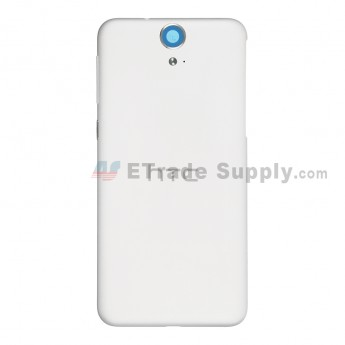 For HTC One E9 Battery Door Replacement - White - Grade S+
