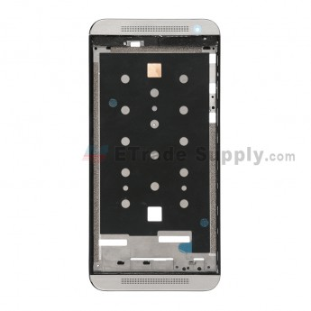 For HTC One E9 Front Housing Replacement - Gray - Grade S+