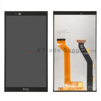 For HTC One E9 LCD Screen and Digitizer Assembly Replacement - Black - Grade S+
