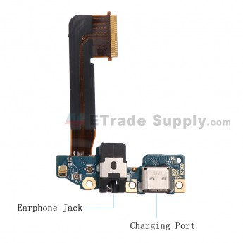 For HTC One M9 Charging Port PCB Board Replacement - Grade S+