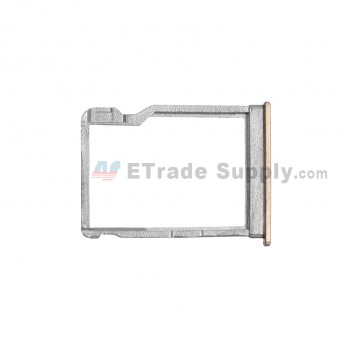 For HTC One M9 SD Card Tray Replacement - Gold - Grade S+