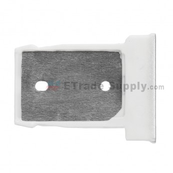 For HTC One M9 SIM Card Tray Replacement - Silver - Grade S+