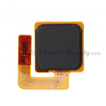 For HTC One Max Fingerprint Sensor Flex Cable Ribbon Replacement - Black - Grade S+