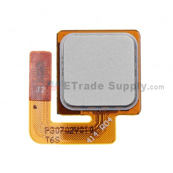 For HTC One Max Fingerprint Sensor Flex Cable Ribbon Replacement - White - Grade S+