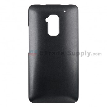 For HTC One Max Protective Case - Black - Grade R