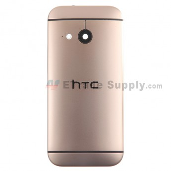 For HTC One Mini 2 Rear Housing Replacement (Gold) - Without Words - Grade S+