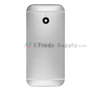 For HTC One Mini 2 Rear Housing Replacement (Silver) - Without Words - Grade S+