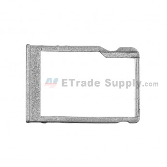 For HTC One Mini 2 SD Card Tray Replacement - Gray - Grade S+