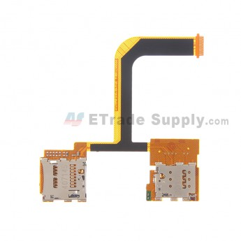 For HTC One Mini 2 SIM Card and SD Card Reader Contact Flex Cable Ribbon Replacement - Grade S+