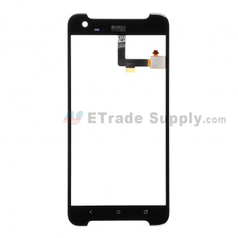 For HTC One X9 Digitizer Touch Screen  Replacement - Black - With Logo - Grade S+