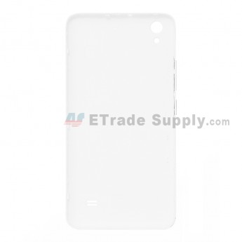 For Huawei Ascend G620S Battery Door Replacement - White - With Logo - Grade S+