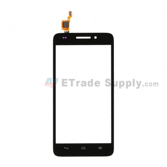 For Huawei Ascend G620S Digitizer Touch Screen Replacement - Black - Without Logo - Grade S+