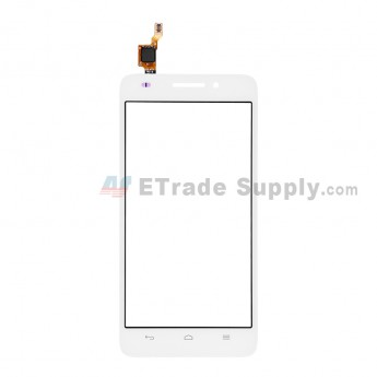 For Huawei Ascend G620S Digitizer Touch Screen Replacement - White - Without Logo - Grade S+