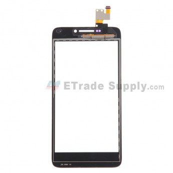 For Huawei Ascend G630 Digitizer Touch Screen Replacement - Black - With Logo - Grade S+