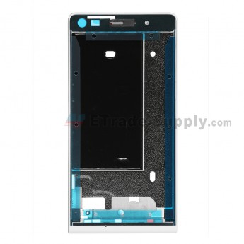 For Huawei Ascend G6 Front Housing Replacement - White - Grade S+