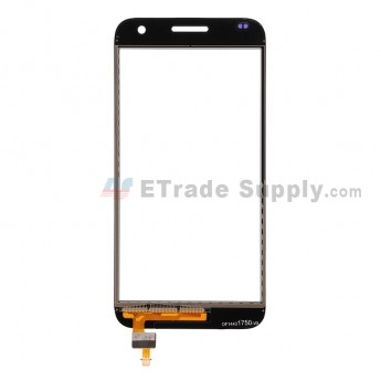 For Huawei Ascend G7 Digitizer Touch Screen  Replacement - White - With Logo - Grade S+