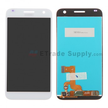 For Huawei Ascend G7 LCD Screen and Digitizer Assembly Replacement - White - With Logo - Grade S+