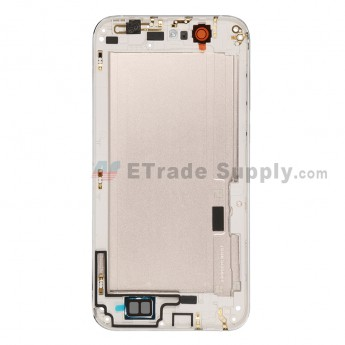 For Huawei Ascend G7 Rear Housing without Top and Bottom Cover Replacement - Gold - Grade S+