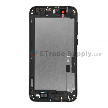 For Huawei Ascend G7 Rear Housing without Top and Bottom Cover Replacement - Gray - Grade S+