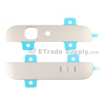 For Huawei Ascend G7 Top and Bottom Cover Replacement - Gold - Grade S+