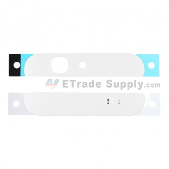 For Huawei Ascend G7 Top and Bottom Cover Replacement - White - Grade S+