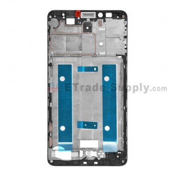 For Huawei Ascend Mate7 Front Housing Replacement - Black - Grade S+