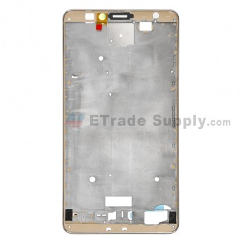 For Huawei Ascend Mate7 Front Housing Replacement - Gold - Grade S+