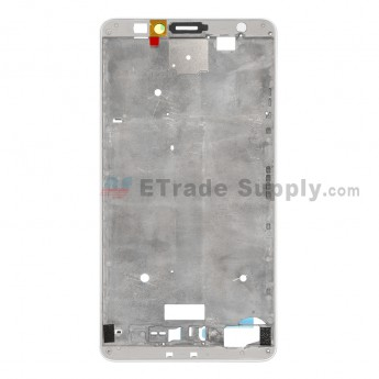 For Huawei Ascend Mate7 Front Housing Replacement - White - Grade S+