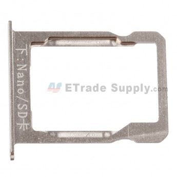 For Huawei Ascend Mate7 SD Card Tray Replacement - Gold - Grade S+
