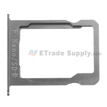 For Huawei Ascend Mate7 SD Card Tray Replacement - Gray - Grade S+