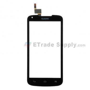 For Huawei Ascend Y540 Digitizer Touch Screen Replacement - Black - Huawei Logo - Grade S+