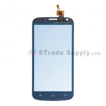 For Huawei Ascend Y600 Digitizer Touch Screen  Replacement - White - With Logo - Grade S+