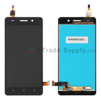 For Huawei Honor 4C LCD Screen and Digitizer Assembly Replacement - Black - Without Logo - Grade S+