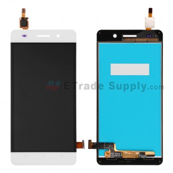 For Huawei Honor 4C LCD Screen and Digitizer Assembly Replacement - White - Without Logo - Grade S+