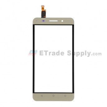 For Huawei Honor 4X Digitizer Touch Screen  Replacement - Gold - Without Logo - Grade S+