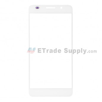 For Huawei Honor 6 Glass Lens Replacement - White - Without Logo - Grade R