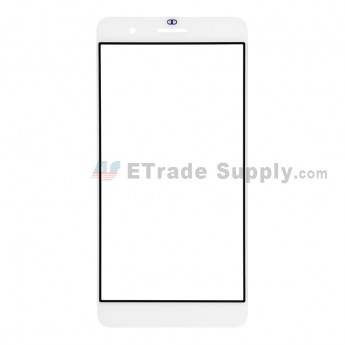 For Huawei Honor 6 Plus Glass Lens Replacement - White - Without Logo - Grade R