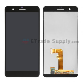 For Huawei Honor 6 Plus LCD Screen and Digitizer Assembly Replacement - Black - Without Logo - Grade S+