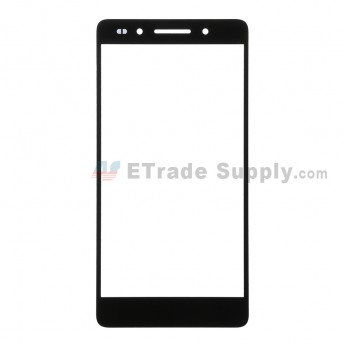 For Huawei Honor 7 Glass Lens Replacement - Black - Without Logo - Grade R