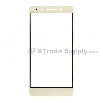For Huawei Honor 7 Glass Lens Replacement - Gold - Without Logo - Grade R