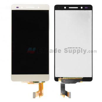 For Huawei Honor 7 LCD Screen and Digitizer Assembly  Replacement - Gold - Without Logo - Grade S+