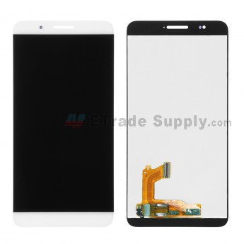 For Huawei Honor 7i LCD Screen and Digitizer Assembly Replacement - White - Without Logo - Grade S+